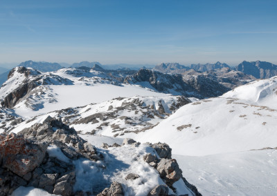 Königsjodler, Abstieg durchs Birgkar