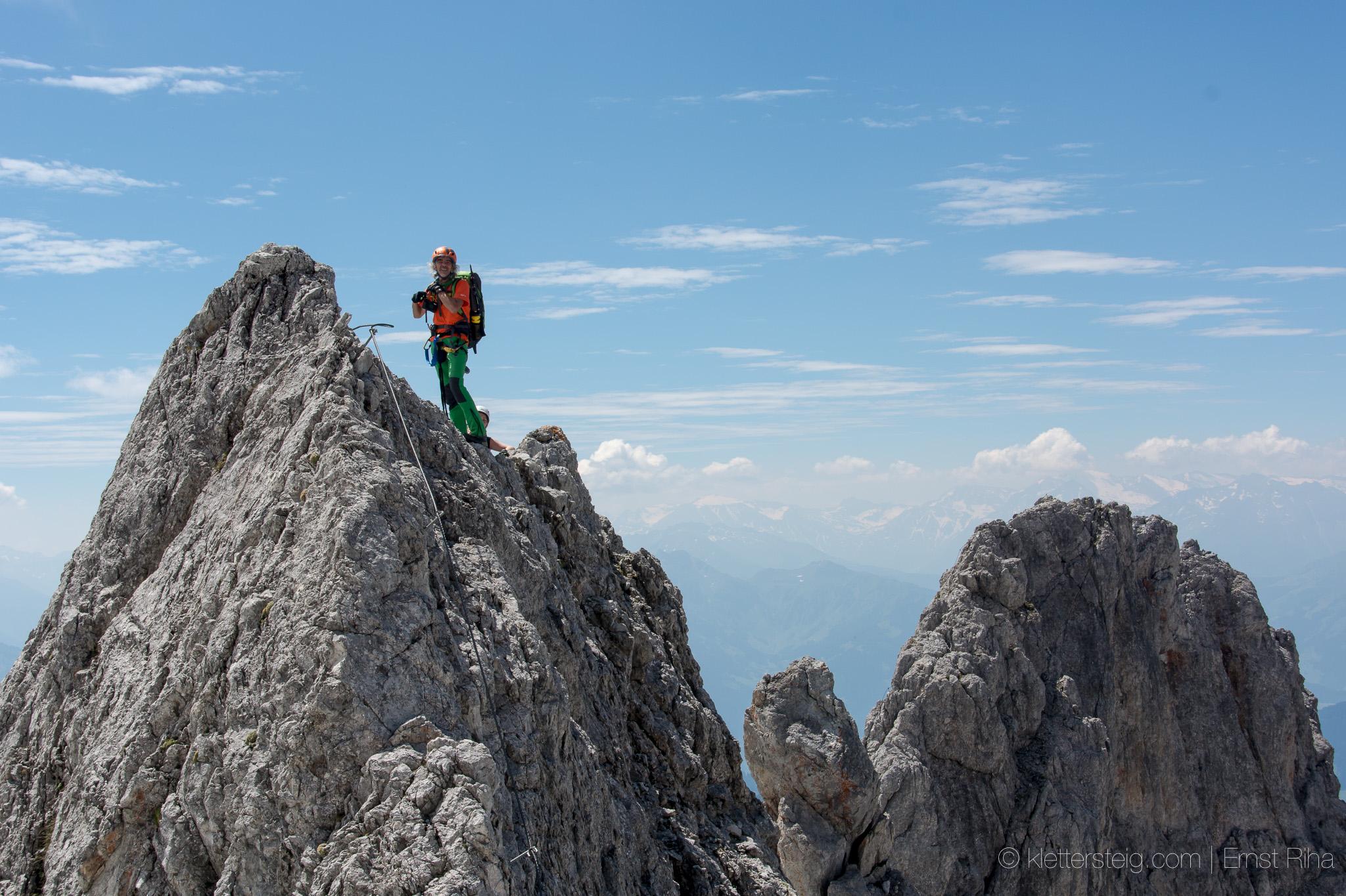 Klettersteig Königsjodler : Königsjodler klettersteig am hochkönig m youtube